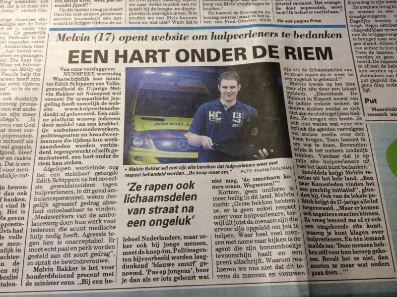 15-08-2012 De Telegraaf.